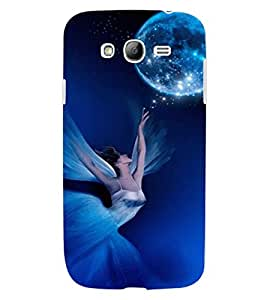 ColourCraft Lovely Angel Design Back Case Cover for SAMSUNG GALAXY GRAND NEO I9060