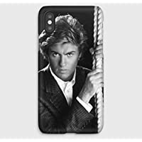 George Michael iPhone cas XS, XS Max, XR, X, 8, 8+, 7, 7+, 6S, 6, 6S+, 6+, 5C, 5, 5S, 5SE, 4S, 4,