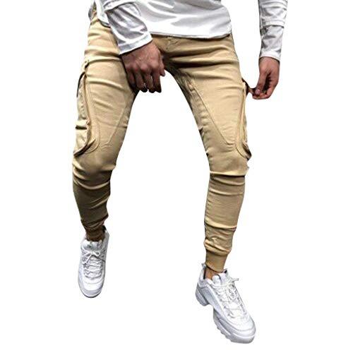 DressLksnf Classico Pantaloni,Pantaloni da Lavoro Uomo Estivi,Pantaloni Corti Uomo Eleganti,Pantaloni da Uomo