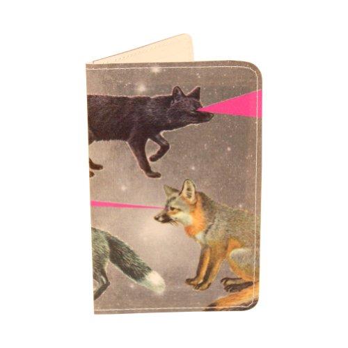Kartenetui Heiße Füchse für Visitenkarten, Ausweise und (Zubehör 1980er)