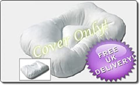 Replacement Cover, Cervical Neck Support Pillow. Offers 'Orthopaedic'' Neck &