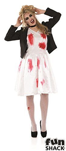 Dead Rock Chick Bride Adult Womens Halloween (Rock Chick Halloween Kostüm)