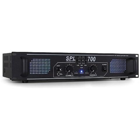 Skytec SPL700 Amplificador DJ PA 2000W