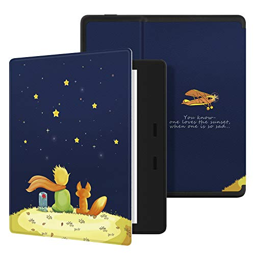 Ayotu Bunte Hülle für Kindle Oasis 7 Zoll(9th Gen.- 2017 Modell) eReader Honeycomb Soft Shell Version Schutzhülle Tasche mit Auto Schlaf/Wach für Amazon 7
