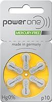 60x Varta Powerone p10Mercury Free Mercury Free hearing aid batteries