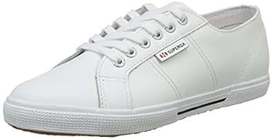 Superga 2950 Fglu, Sneakers Basses mixte adulte, Blanc (900 White), 45 EU