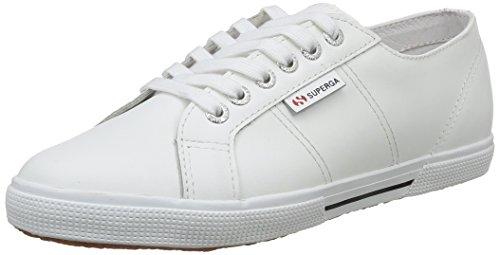 Superga - 2950 Fglu, Scarpe unisex, bianco(blanc (900 white)), 38