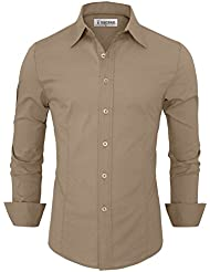 Tom's Ware Chemise Habillee - Homme (couleurs differentes)