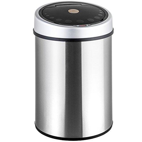 Preisvergleich Produktbild TecTake® Luxus Sensor Abfalleimer Mülleimer 40 Liter Volumen