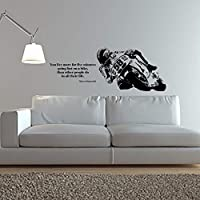 ziweipp Wall Decal Vinyl Art Home Decor Sticker Bike Motorcycle Sport Decal Kids Room Decoration Removeable Poster42*110cm