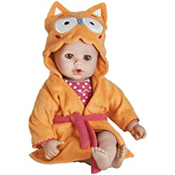 Adora Bathtime Brown Eyes Baby 13 Doll Owl