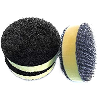 EVA Hard Sponge Interface Pad 1 Inch 25mm Cushion Pad Protection Disc Pad Abrasive Tools Electric Grinder Parts (Pack of 5)