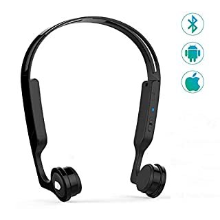 Spedal Bone Conduction Headphones, Open Ear Wireless Bluetooth Headsets, IPX5 Waterproof Earphones With Mic for Running Driving Cycling Compatible With iPhone Android