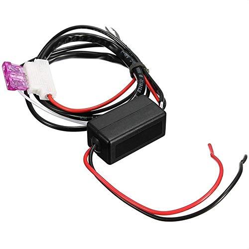 Automatische Auto Smart LED-Tagfahrleuchte Relay Control Switch DRL Ein-Aus-Harness Dimmer (Lichtschalter Dimmer Installieren)
