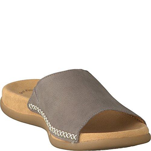 Gabor Fashion 03.705.13 Damen Pantoletten Dunkelbeige
