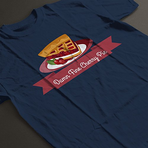 Twin Peaks Cherry Pie Women's T-Shirt Navy blue