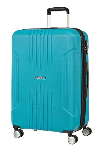 American tourister bagaglio a mano tracklite 67/24 blu
