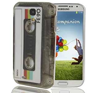 Tape Pattern Plastic Case for Samsung Galaxy S4 i9500