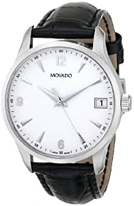 MOVADO CIRCA 606569 GENTS STAINLESS STEEL CASE DATE WATCH