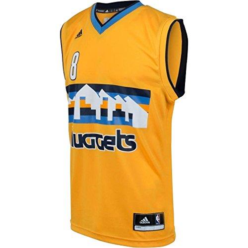 Adidas INT Replica Jrsy Camiseta, Hombre, Amarillo/Azul (NBA.