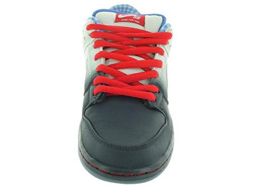 Nike Dunk Low Premium Sb Skate-Schuh dk mgnt grey/wht/uni rd