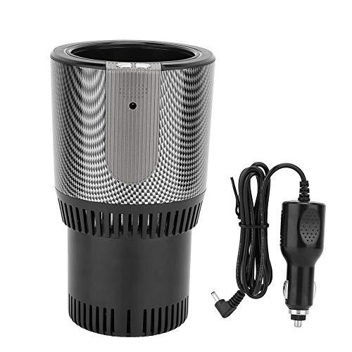 Kühler wärmerer Auto tasse, Premium 2-in-1 Car Cup Warm & Cool 5L Smart Car Cup Becherhalter 12 V Kühler Wärmer Smart Car Cup, Kühler wärmerer Smart Car Cup(Black) - Getränke Cup-kühler