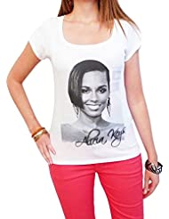 Alicia Keys : T-shirt imprimé photo de star7015202