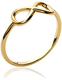 ISADY - Lisa Gold - Women's Ring - 750/000 (18 Carat) Gold - Infinity