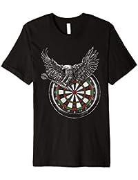 Dart T-Shirt Adler I Darts Dartscheibe Bulls Eye Geschenk