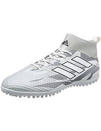 Botas Adidas Ace 17.3 Blancas Suela Turf Con Calcetín