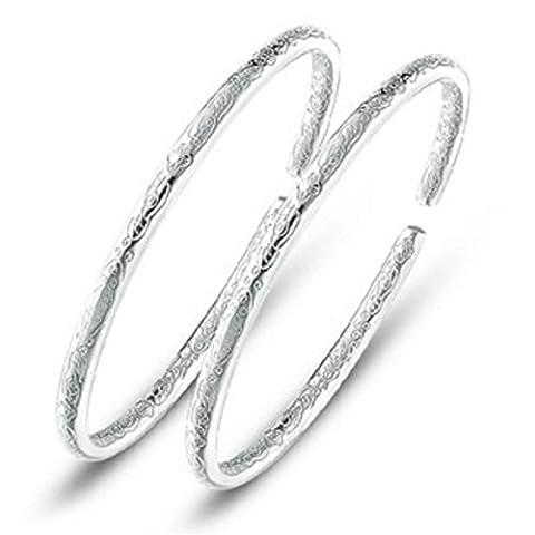 Doudoune Collection–Femme et fille bracelet plaqué argent 925Spell Fashion