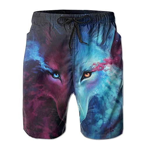 Cool Wolf Men's Summer Beach Quick-Dry Surf Swim Trunks Boardshorts Cargo Pants XL Soft-petite Womens Drawstring Pant