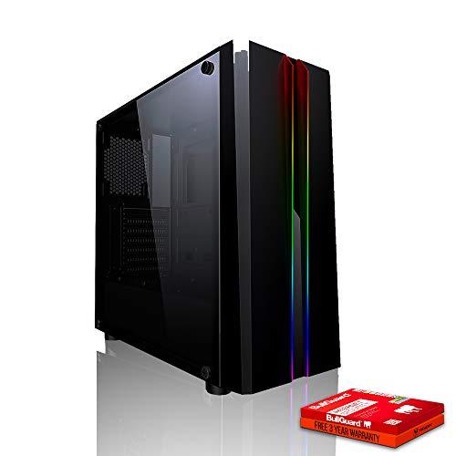 Fierce Phoenix RGB Gaming PC - Schnell 3.4GHz Quad-Core AMD Ryzen 3 1200, 2TB Festplatte, 8GB 2666MHz, NVIDIA GeForce GTX 1050 Ti 4GB, Windows Nicht Enthalten 509537