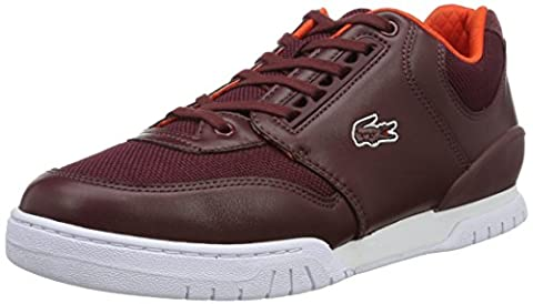 Lacoste L!VE - Sneaker - Homme - rouge (burg/org) - Taille 42