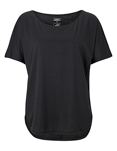 Venice Beach Damen Bella Loose Fit-Shirt T-Shirt, Black, M