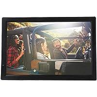 Televisión LCD portátil de 14 Pulgadas, TV analógica con TV DVB-T-T2 1080P HD con baterías Recargables de 1800 mah y Antena para habitación, Cocina, Caravana,Coche,etc.
