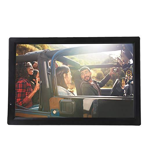 ASHATA 14 Zoll Tragbarer DVB-T/T2 Fernseher, LCD HDTV Digital Analog Fernseher Auto ATV/UHF/VHF Portable TV,1080P Video/AV/HDMI//VGA/USB/SD/MMC-Karte Auto Digital TV mit Fernbedienung Schwarz Portable Video-sender