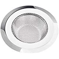 Kitchen Sink Strainer Heavy-Duty Stainless-Steel Drain Basin Basket Filter Stopper Drainer Jali