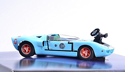 Fly Ford GT40 Camera Car +DVD Le Mans The Race, The Movie Slotcar 1:32