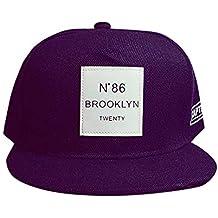 BHYDRY Moda Unisex Hombres Mujeres Bboy Hip Hop Ajustable Béisbol Snapback Hat  Cap Regalo 060ac96f21d