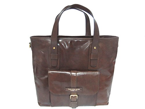 Shopper Tasche cm Marrone Bridge Marco 39 The Polo Leder fwxnUqPxtv