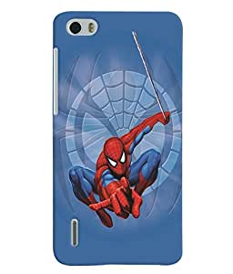 Huawei Honor 6 MULTICOLOR PRINTED BACK COVER FROM GADGET LOOKS