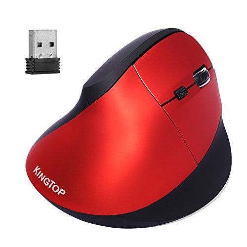 kingtop-souris-verticale-sans-fil-ergonomique-rechargeable-24-ghz-optique-avec-3-niveaux-dpi-ajustab
