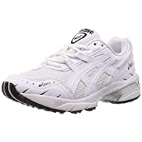 Asics GEL-1090 Road Running Shoes for Womens, White, 37 EU