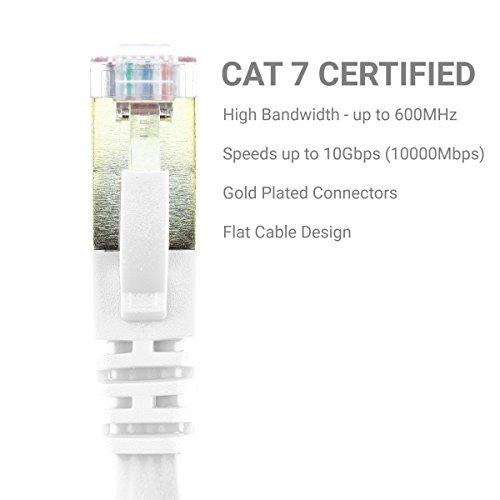 GizzmoHeaven CAT7FLTETNET1MWHI