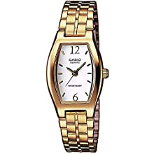 Casio Women's Analogue Quartz Watch with Stainless Steel Bracelet LTP-1281PG-7A