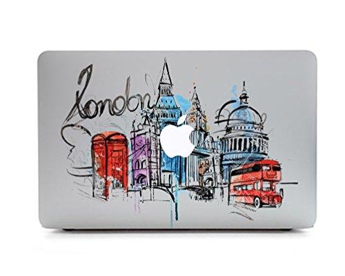 Macbook Aufkleber, Stillshine Super dünn Removable Bunte Muster Sticker Aufkleber Skin für Apple MacBook Pro / Air 13