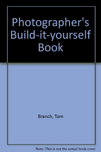 Photographer's Build-it-yourself Book
