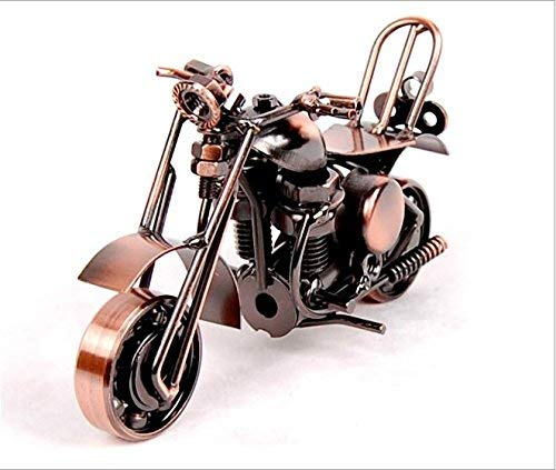 Motorrad Dekoration Modell, Bronze Retro Klassische Handgemachte Eisen Motorrad Handcrafted Eisen Metall Motorrad Sammeln Kunst Skulptur Motorrad Für Wohnkultur