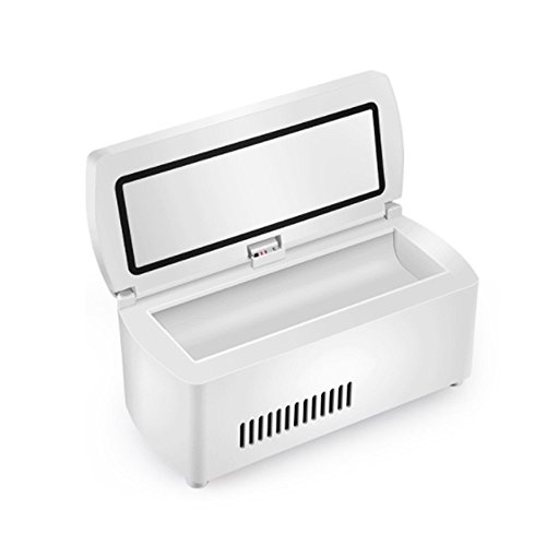 Insulin-Kühlbox HuAma Tragbare Mini Medizin Intelligente Kühlung Wiederaufladbare Auto Tragbaren Kleinen Kühlschrank 20X9.4X9Cm (7.87X3.7X3.54Inch) -